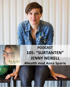 Jenny Neikell Surtantens podcast 4health med anna sparre